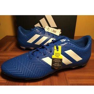 Adidas Nemeziz 18.4 FxG Blue Soccer 12 Artificial